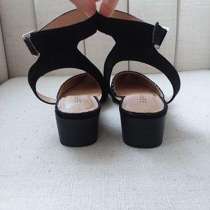 Esprit Saffron pointed toe ankle strap pumps
